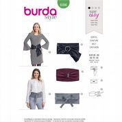 6396 Burda Pattern: Misses' Easy-to-Make Belts